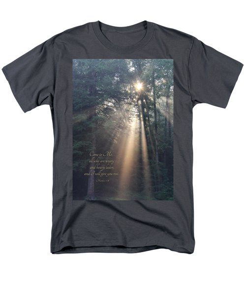 Come To Me Men's T-Shirt  (Regular Fit) by Lori Deiter