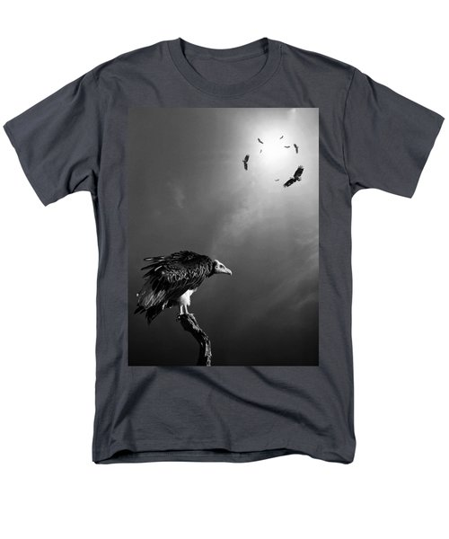 Conceptual - Vultures Awaiting Men's T-Shirt  (Regular Fit)