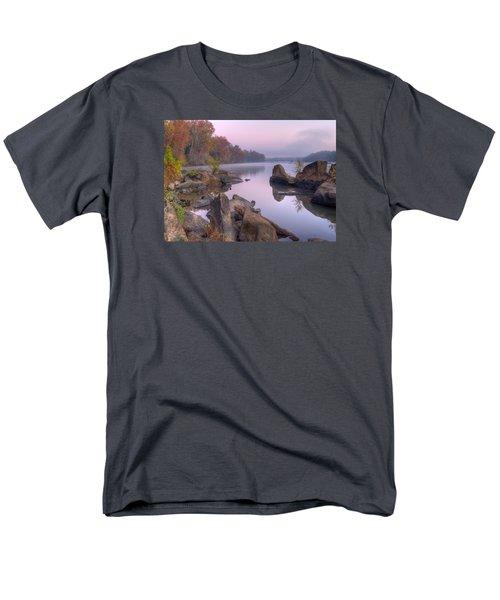 Congaree River At Dawn-1 Men's T-Shirt  (Regular Fit) by Charles Hite
