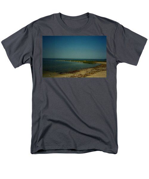 Cool Day For A Swim Men's T-Shirt  (Regular Fit) by Amazing Photographs AKA Christian Wilson