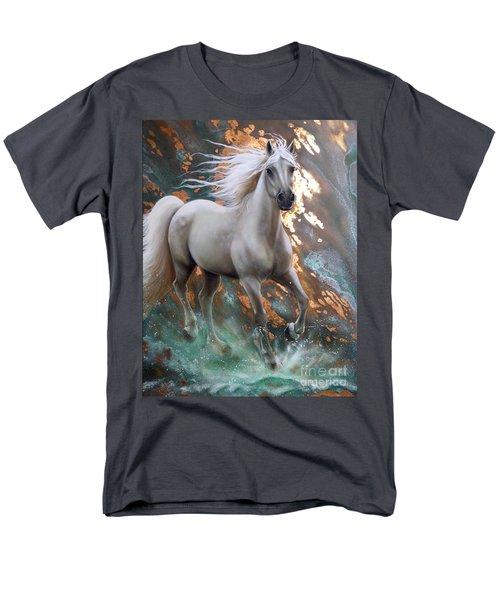 Copper Sundancer - Horse Men's T-Shirt  (Regular Fit) by Sandi Baker