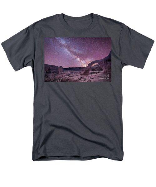 Corona Arch Milky Way Men's T-Shirt  (Regular Fit) by Michael Ver Sprill