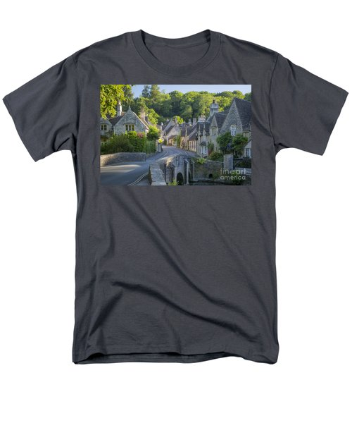 Cotswold Village Men's T-Shirt  (Regular Fit) by Brian Jannsen