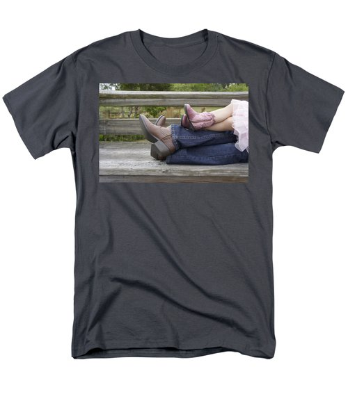 Men's T-Shirt  (Regular Fit) featuring the photograph Cowgirls by Laurie Perry