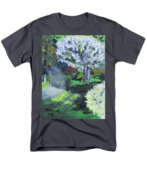 Crab Apple Tree Men's T-Shirt  (Regular Fit) by Michael Daniels