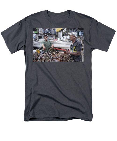 Crabbers At Popotla Men's T-Shirt  (Regular Fit) by Hugh Smith