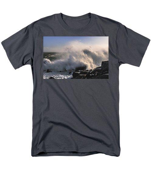 Crashing Surf Men's T-Shirt  (Regular Fit) by Marty Saccone