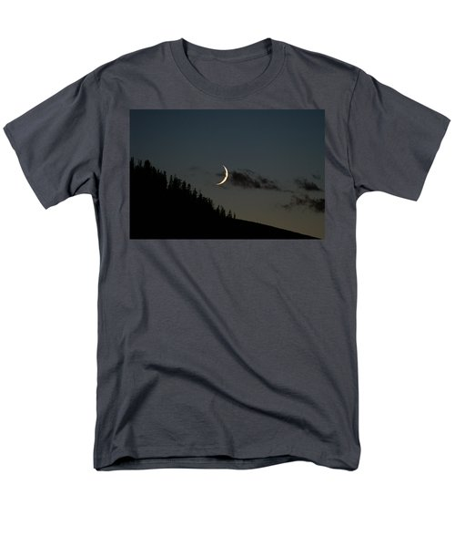 Men's T-Shirt  (Regular Fit) featuring the photograph Crescent Silhouette by Jeremy Rhoades