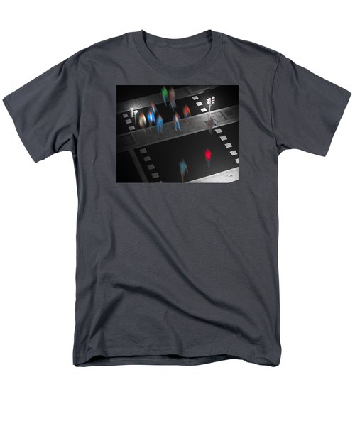 Men's T-Shirt  (Regular Fit) featuring the photograph Crosswalk by Pedro L Gili