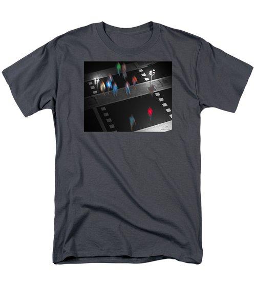 Crosswalk Men's T-Shirt  (Regular Fit) by Pedro L Gili