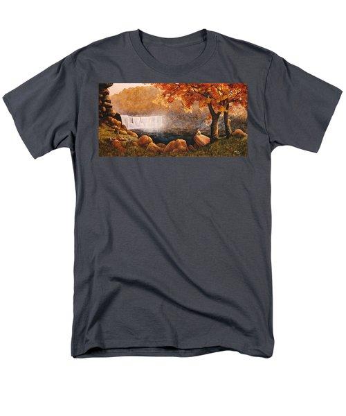 Cumberland Falls Men's T-Shirt  (Regular Fit) by Duane R Probus