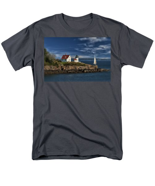 Curtis Island Lighthouse Maine Img 5988 Men's T-Shirt  (Regular Fit) by Greg Kluempers