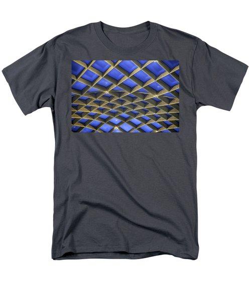 Curvilinear Skylight Structure  Men's T-Shirt  (Regular Fit) by Lynn Palmer
