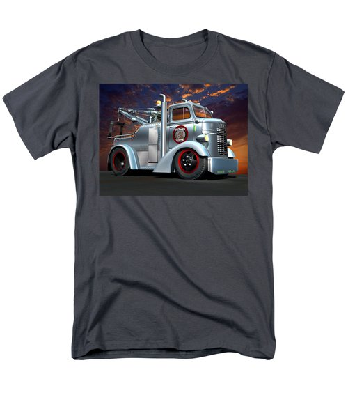Custom Coe Tow Truck Men's T-Shirt  (Regular Fit) by Stuart Swartz
