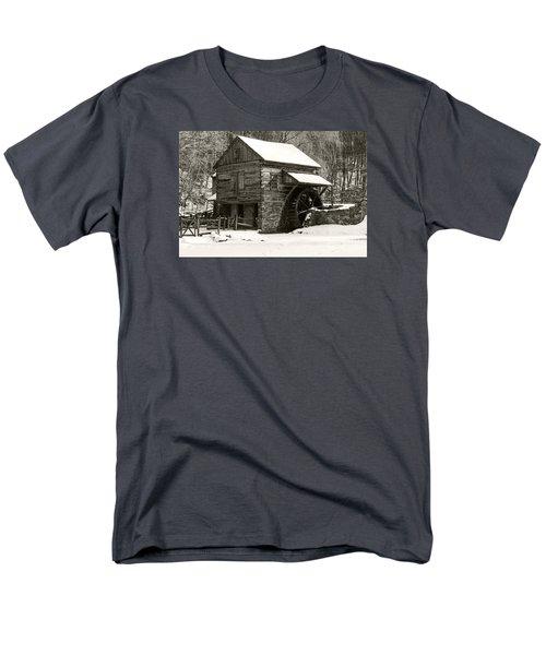 Cuttalossa In Winter Iv Men's T-Shirt  (Regular Fit) by Debra Fedchin