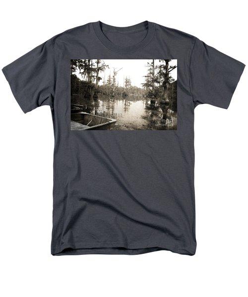 Cypress Swamp Men's T-Shirt  (Regular Fit) by Scott Pellegrin