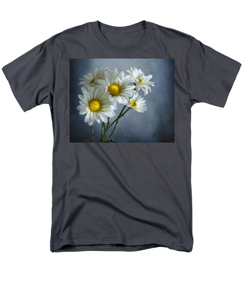 Men's T-Shirt  (Regular Fit) featuring the photograph Daisy Bouquet by Ann Lauwers