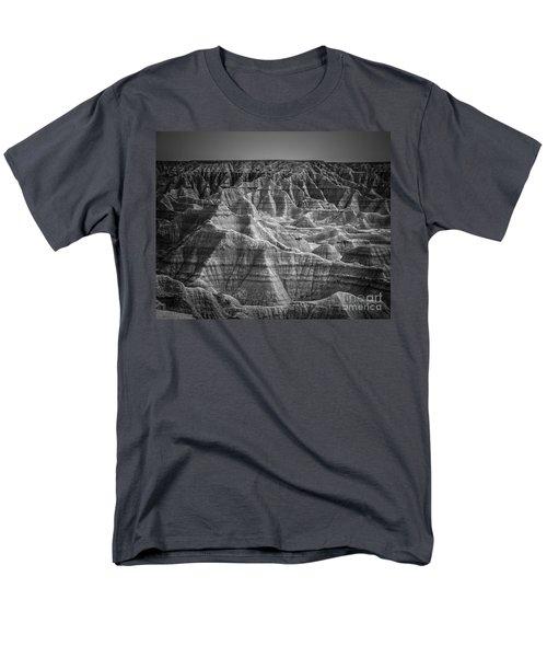 Dakota Badlands Men's T-Shirt  (Regular Fit) by Perry Webster