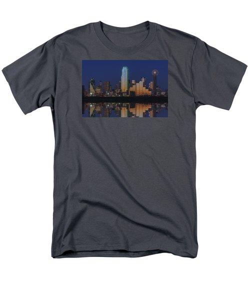 Dallas Aglow Men's T-Shirt  (Regular Fit) by Rick Berk