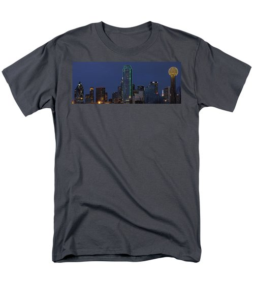 Dallas Skyline Men's T-Shirt  (Regular Fit) by Jonathan Davison