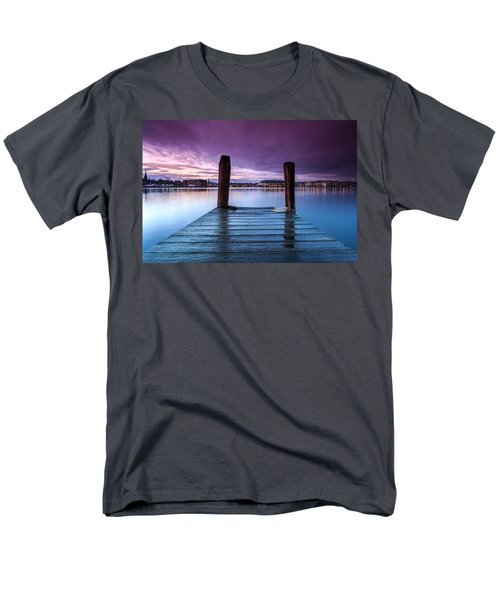 Damp Sunset Men's T-Shirt  (Regular Fit)