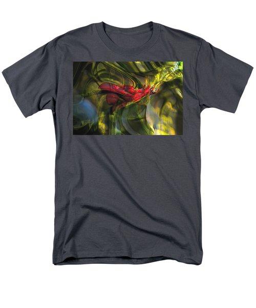 Men's T-Shirt  (Regular Fit) featuring the digital art Dangerous by Richard Thomas