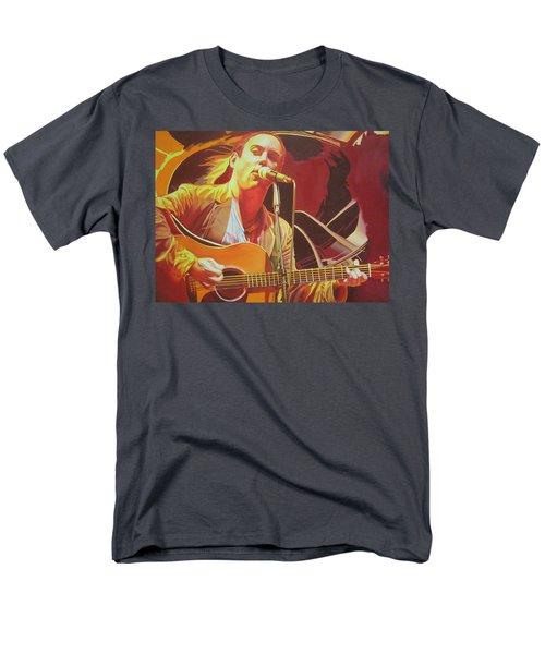 Dave Matthews At Vegoose Men's T-Shirt  (Regular Fit) by Joshua Morton