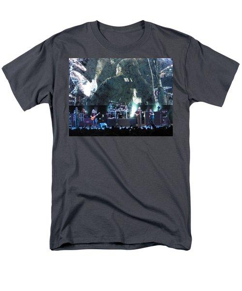 Dave Matthews Band Rocks Final Four Weekend Men's T-Shirt  (Regular Fit) by Aaron Martens