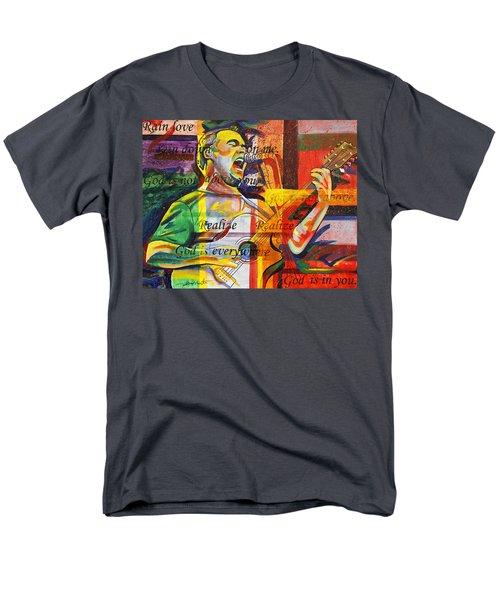 Dave Matthews-bartender Men's T-Shirt  (Regular Fit) by Joshua Morton