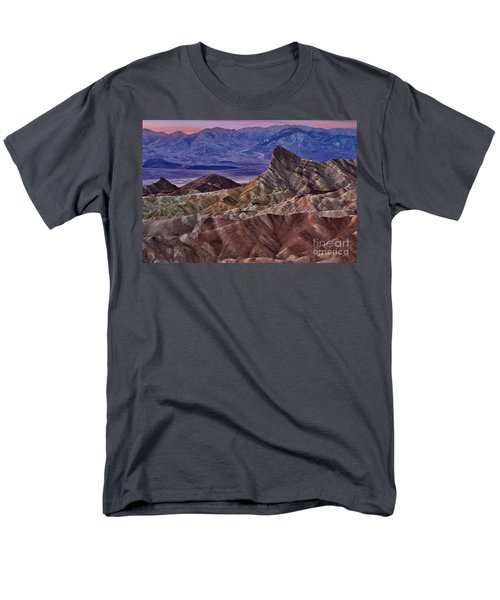 Dawn At Zabriskie Point Men's T-Shirt  (Regular Fit) by Jerry Fornarotto