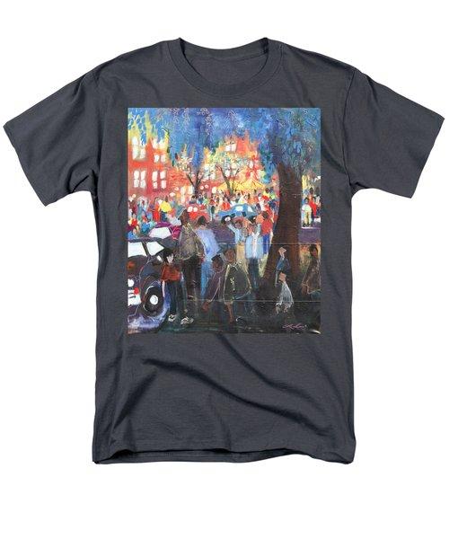D.c. Market Men's T-Shirt  (Regular Fit) by Leela Payne