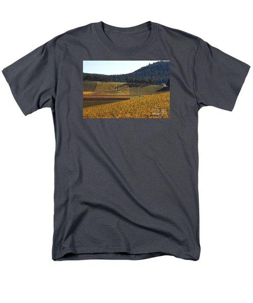 golden vines-Victoria-Australia Men's T-Shirt  (Regular Fit) by Joy Watson