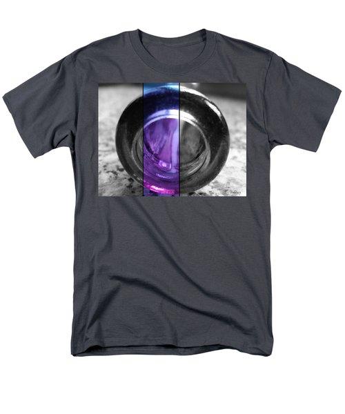 Men's T-Shirt  (Regular Fit) featuring the photograph Deep Thoughts Part Three by Sir Josef - Social Critic - ART