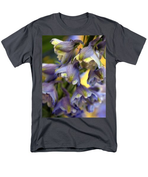 Delphinium Blue Men's T-Shirt  (Regular Fit) by Joseph Skompski
