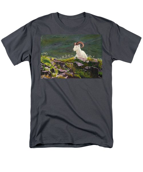 Denali Dall Sheep Men's T-Shirt  (Regular Fit) by Mike Robles