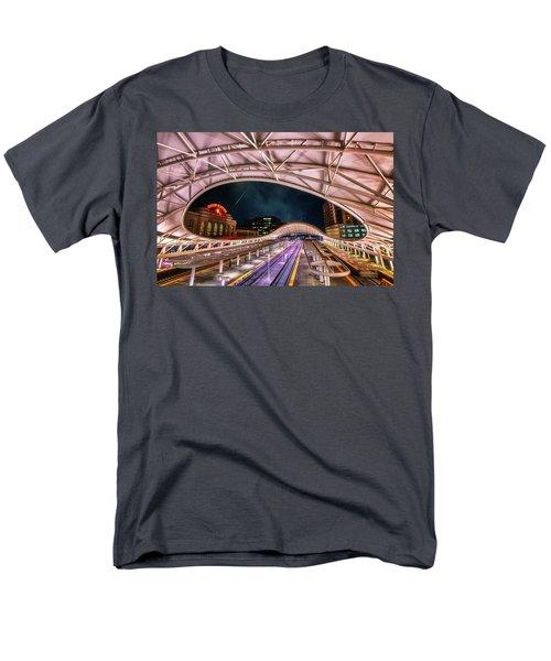Denver Air Traveler Men's T-Shirt  (Regular Fit) by Darren  White