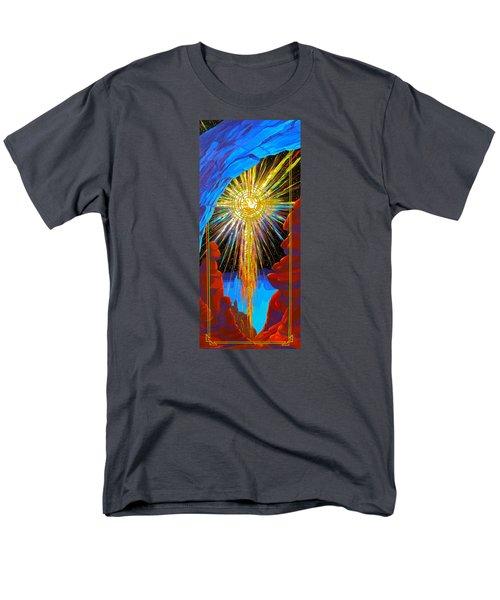 Desert Star  Men's T-Shirt  (Regular Fit) by Alan Johnson