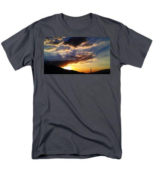 Divine Sunset Men's T-Shirt  (Regular Fit) by Chris Tarpening