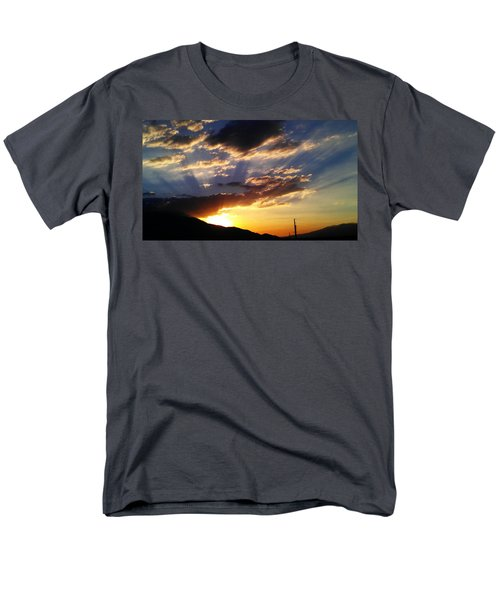 Divine Sunset Men's T-Shirt  (Regular Fit)