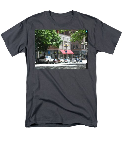 Downtown Neighborhood Men's T-Shirt  (Regular Fit) by David Trotter