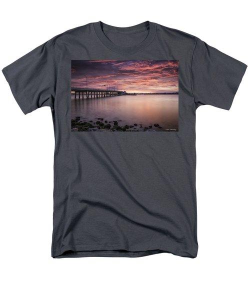 Drawbridge At Dusk Men's T-Shirt  (Regular Fit) by Fran Gallogly