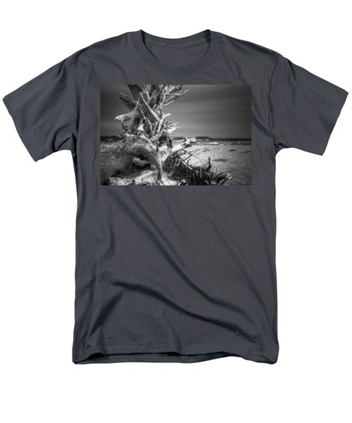 Driftwood At Race Point Men's T-Shirt  (Regular Fit) by Brian Caldwell