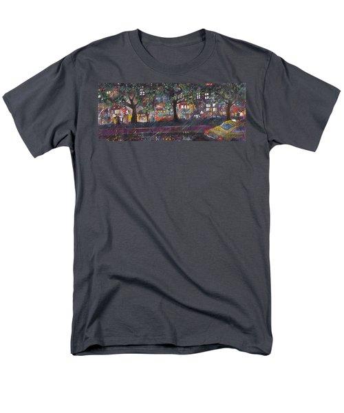 Dupont In The Rain Men's T-Shirt  (Regular Fit) by Leela Payne