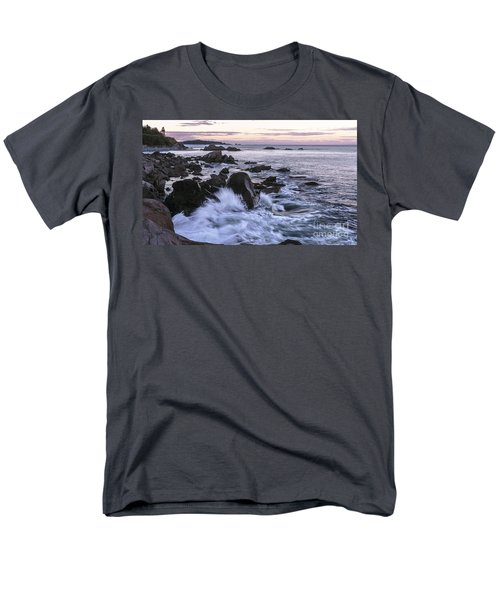 Dusk At West Quoddy Head Light Men's T-Shirt  (Regular Fit) by Marty Saccone