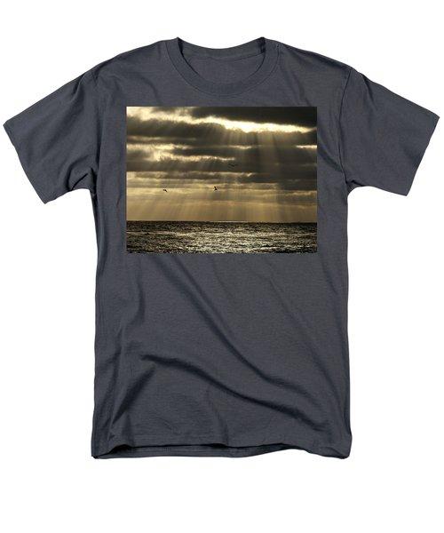 Dusk On Pacific Men's T-Shirt  (Regular Fit) by Joe Schofield