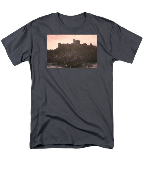 Men's T-Shirt  (Regular Fit) featuring the painting Dusk Over Windsor Castle by Jean Walker