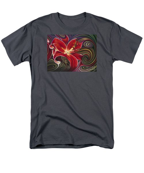 Dynamic Reds Men's T-Shirt  (Regular Fit)