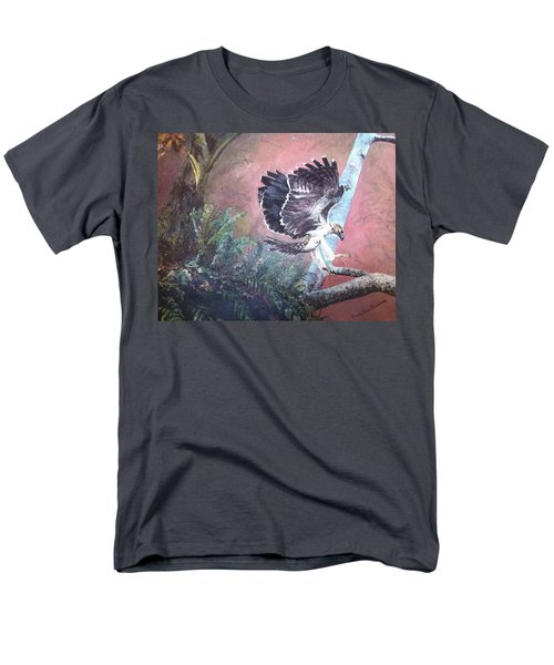 Eagle Light Men's T-Shirt  (Regular Fit) by Mary Ellen Anderson