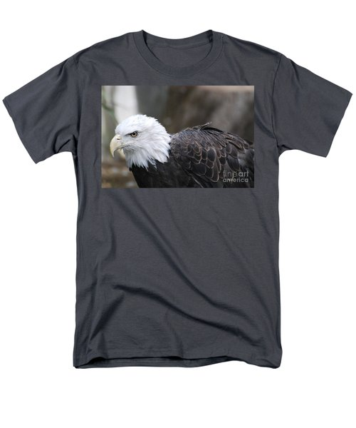 Eagle With Ruffled Feathers Men's T-Shirt  (Regular Fit) by DejaVu Designs
