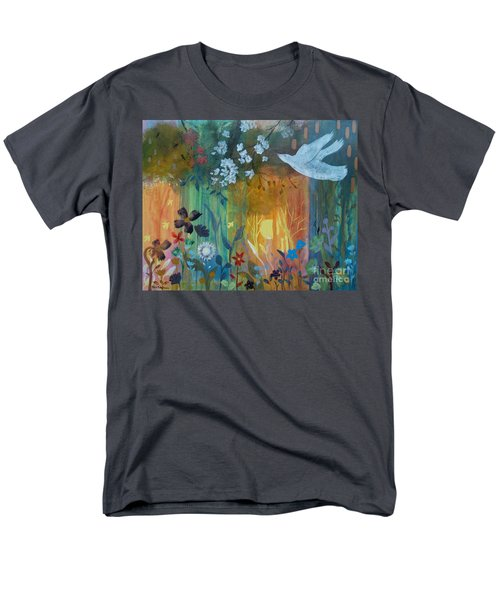 Men's T-Shirt  (Regular Fit) featuring the painting Encantador by Robin Maria Pedrero